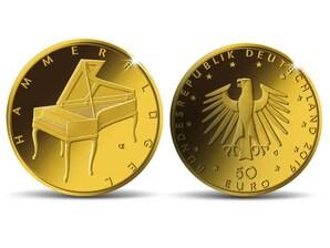 "50 Euro Goldmünze ""Hammerflügel"""