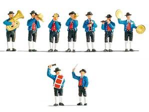 "Figuren-Set ""Musikkapelle"", H0"