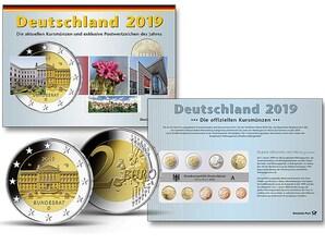 Kursmünzen einer beliebigen Prägestätte 2019