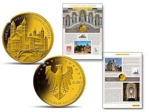 """Gold-Numisblatt 2019: """"UNESCO-Welterbe Dom zu Speyer"""""""