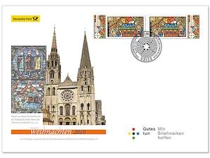"""Ersttagsbrief mit dem Plus: """"Serie Weihnachten"""" 2019 - Kirchenfenster"""