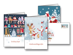 "Plusbriefe Sonderedition ""Weihnachten 2019"", 0,80 EUR, 3er-Set"