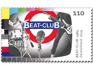 Beat Club, Briefmarke zu 1,10 EUR, 10er-Bogen