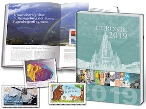 """Buch """"Chronik 2019 - Briefmarken und Ereignisse"""""""