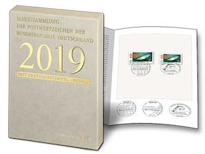 Postwertzeichen-Jahressammlung 2019