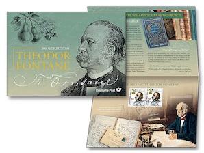 "Erinnerungblatt ""200. Geburtstag Theodor Fontane"""