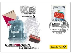 """Messebeleg """"NUMIPHIL Wien"""" 2019"""