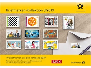 "Steckkarte: ""Briefmarken-Kollektion 3/2019"""