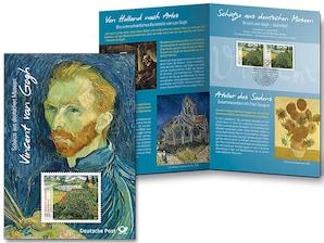 "Erinnerungsblatt ""Vincent van Gogh - Mohnfeld"""