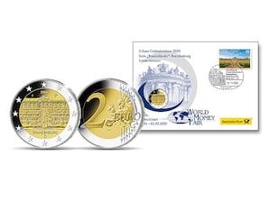 Gedenkbrief World Money Fair 2020: Brandenburg