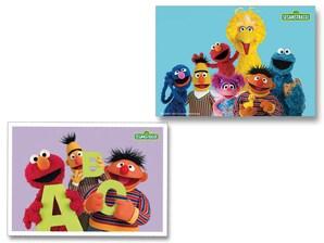 """Postkarten-Set """"Sesamstrasse"""", Fotomotive"""