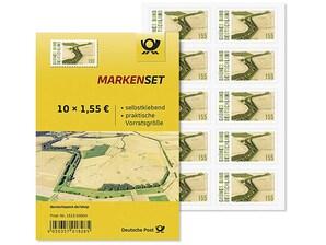 """Markenset """"Grünes Band Deutschland"""", Briefmarke zu 1,55 EUR, 10er-Set"""