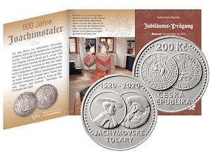 "Numisfolder ""500 Jahre Joachimstaler"", Stempelglanz"