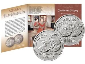"""Numisfolder """"500 Jahre Joachimstaler"""", Spiegelglanz"""