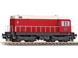 """Diesellok BR 107 """"DR"""", Ep. IV, H0, WS"""