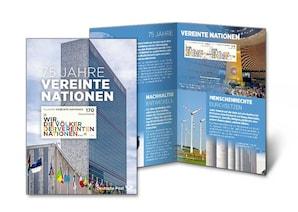 """Erinnerungsblatt """"75 Jahre Vereinte Nationen 2020"""""""
