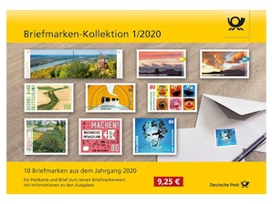 "Steckkarte: ""Briefmarken-Kollektion 1/2020"""