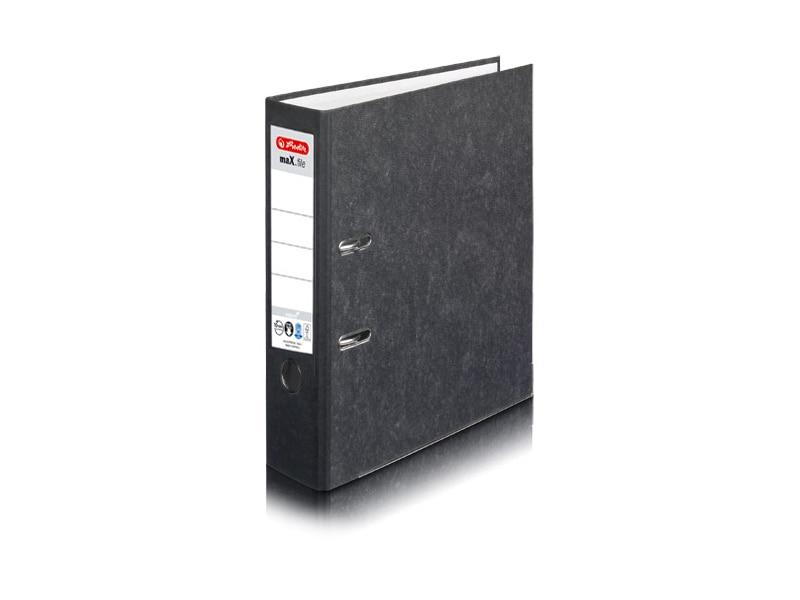 Idena DIN A4 Ordner Wolkenmarmor Rückenbreite 8 cm 7 Farben mit Kantenschutz