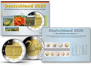 Kursmünzen der Prägestätte München (D) 2020
