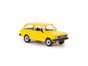 Volvo 66, Kombi, gelb, 1:87