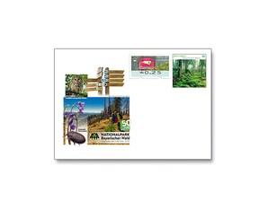 """Gedenkbriefumschlag """"50 Jahre Nationalpark Bayerischer Wald"""""""