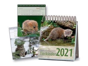Postkartenkalender Tierkinder