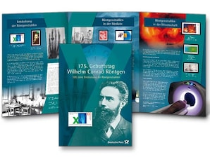 """Gedenkset """"175. Geburtstag Wilhelm Conrad Röntgen"""""""