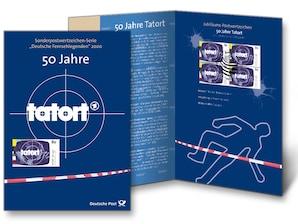 """Erinnerungsblatt """"50 Jahre Tatort"""""""