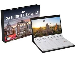 """Tischkalender """"Das Erbe der Welt"""" 2021"""