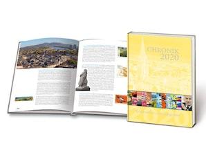 """Buch """"Chronik 2020 - Briefmarken und Ereignisse"""""""