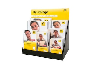 Deutsche Post Briefumschläge Display