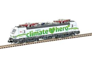 "E-Lok BR 193 Vectron DB Cargo ""I am a climate hero"", Ep. VI, Spur N"