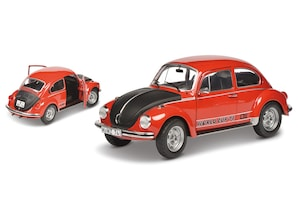 VW Käfer 1303, rot, 1:18