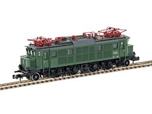 """E-Lok BR 117 122-2, grün, """"DB"""", Ep. IV, Spur N"""