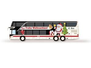 """Setra Bus DT DB IC """"Weihnachtsmarkt"""", 1:160"""