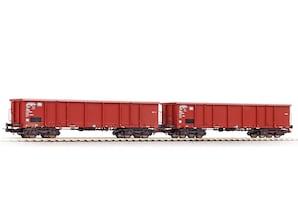 2er-Set offene Güterwagen Eaos, Ep. IV, H0