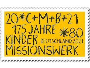 175 Jahre Kindermissionswerk, Briefmarke zu 0,80 EUR, 10er-Bogen