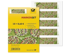 """Markenset """"Siedlung in Lübeck"""", Briefmarke zu 0,60 EUR, 10er-Set"""