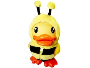 Spardose Ente mit Bienenkostüm
