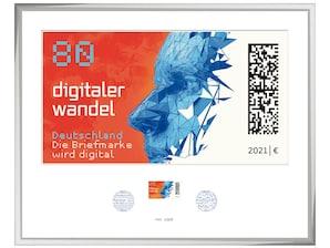 """Bilderrahmen """"Digitaler Wandel"""""""