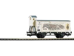 Güterwagen mit Bremserhaus, DR, Ep. III, H0