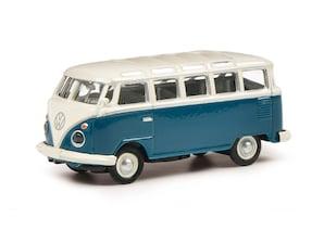 "VW T1 ""Samba"" blau/weiß, 1:87"