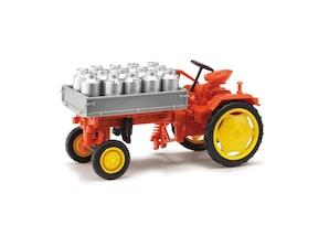 """Traktor RS09 """"Milchkannen"""", 1:87"""
