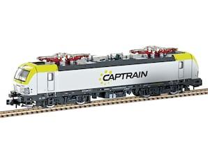 """E-Lok BR 193 Vectron """"Captrain"""", Ep. VI, Spur N"""