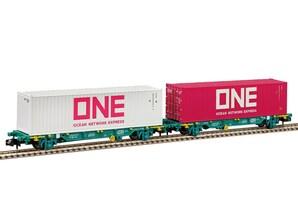 """2er-Set Containerwagen """"ONE"""", Ep. VI, Spur N"""