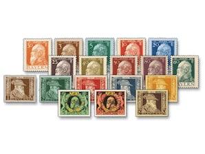 Altdeutschland, Kgr. Bayern: Marken 90. Geb. und 25 Jahre Regentschaft von Prinzregent Luitpold