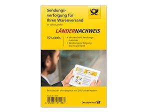"""Bild """"Ländernachweis Funketiketten Prepaid-Label"""" - 50er-Set"""