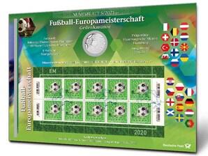 "Numisblatt ""Fußball-Europameisterschaft"""