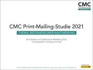 CMC Print-Mailing-Studie 2021 - Bestandskunden