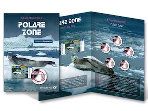 """Numiskarte """"Polare Zone"""", Spiegelglanz"""